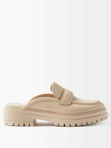Thom Browne - Open Knit Bouclé Wool Blend Cardigan - Womens - Pink Multi