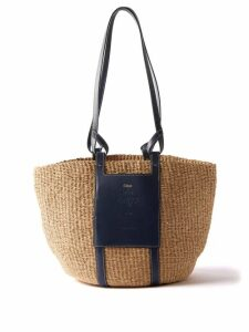 Valentino - Ruffle-trim Silk Georgette Blouse - Womens - Pink