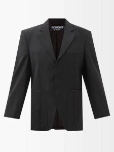 Gabriela Hearst - Chester Cashmere Blend Sweater - Womens - Light Grey