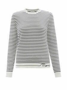 Gabriela Hearst - Henri Polka-dot Silk Shirt - Womens - Navy Multi