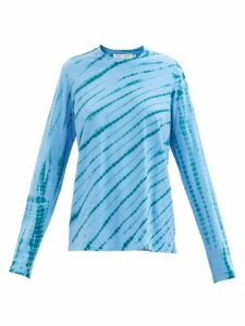 Allude - High-neck Cashmere Sweater - Womens - Green
