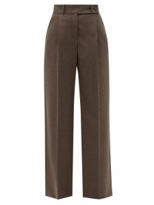 Allude - Ribbed Cashmere Sweater - Womens - Khaki
