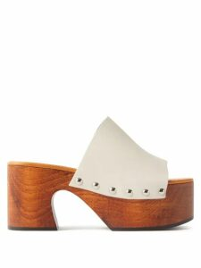 Allude - High Neck Ribbed Cashmere Sweater - Womens - Beige