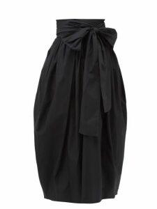 Alexandre Vauthier - Leopard-print Satin Bustier - Womens - Pink Print