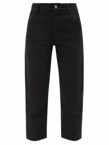 Alexander Mcqueen - Scalloped Peplum Knitted Cardigan - Womens - Ivory