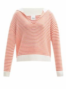 Roksanda - Kemi Bow Sleeve Crepe Blouse - Womens - Light Blue