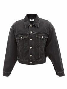 Prada - Leopard-print Cut-out Sablé Midi Dress - Womens - Leopard