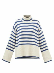 Simone Rocha - Lace-panel Cotton T-shirt - Womens - Black