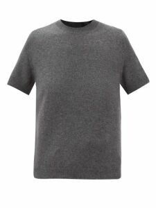 Avec Modération - Kitzbuhel Contrast-panel Shearling-lined Slides - Womens - Beige Multi