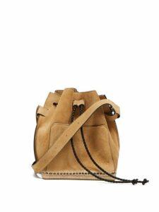 Altuzarra - Espadrille Suede Bucket Bag - Womens - Beige Multi