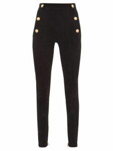 Prada - Catene Logo-plaque Nylon Cross-body Bag - Womens - Black