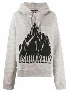 Dsquared2 printed hoodie - Grey