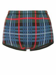 Macgraw Tilly tartan shorts - Blue