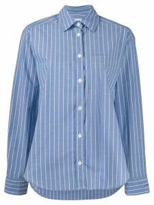 Zadig & Voltaire striped chemise shirt - Blue