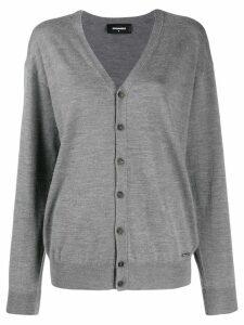 Dsquared2 V-neck cardigan - Grey