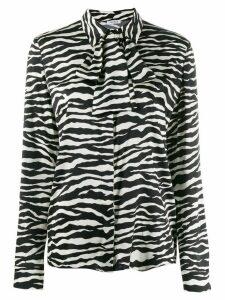 P.A.R.O.S.H. zebra print shirt - Black