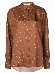 Tibi Ant polka dot blouse - Brown