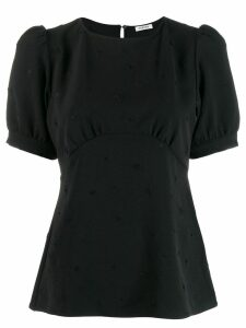 P.A.R.O.S.H. ball sleeve blouse - Black