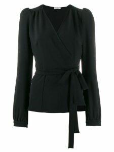 P.A.R.O.S.H. tie waist blouse - Black