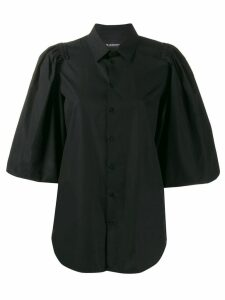 Neil Barrett ruffle sleeve blouse - Black