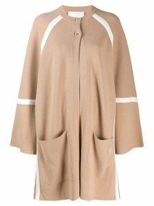 Chloé wool oversized cardigan - Neutrals