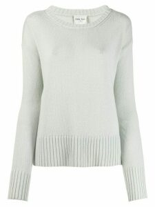 Forte Forte ribbed trim jumper - Blue