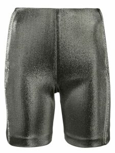 AREA metallic fitted shorts - Grey