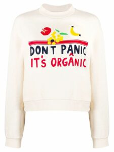 Être Cécile Don't Panic It's Organic sweater - Neutrals