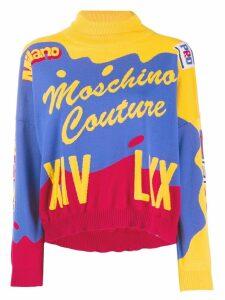 Moschino Intarsia jumper - Blue