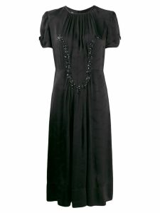 Marc Jacobs Crepe Jacquard dress - Black