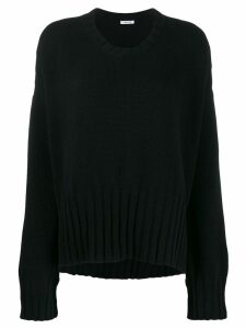 P.A.R.O.S.H. ribbed detail jumper - Black