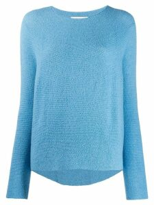 Christian Wijnants fine knit sweater - Blue