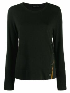 Luisa Cerano buttoned jumper - Green