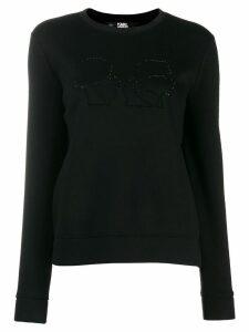 Karl Lagerfeld Karl X Olivia Profile sweatshirt - Black