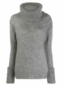 Prada roll neck jumper - Grey
