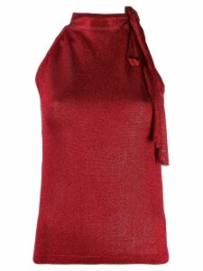 Missoni tie neck blouse - Red