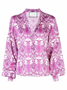 Alexis Castera blouse - PURPLE