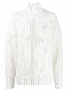 MSGM ribbed sweater - White
