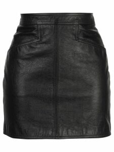 Saint Laurent fitted mini skirt - Black