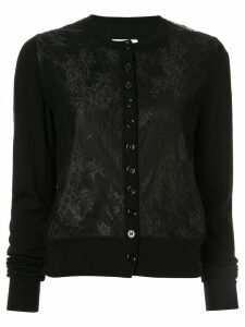 Mm6 Maison Margiela lace classic cardigan - Black
