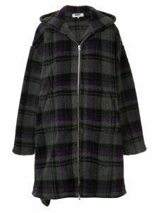 Mm6 Maison Margiela blanket oversized coat - Grey