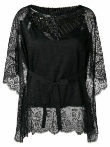 Antonio Marras embellished lace blouse - Black