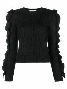 Philosophy Di Lorenzo Serafini loose fitted sweater - Black