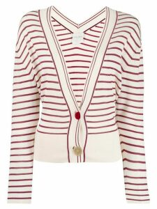Forte Forte striped cardigan - White