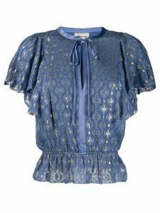 Temperley London Sukie blouse - Blue
