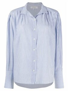 FRAME pleated clean collar shirt - Blue