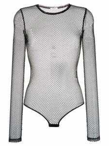 P.A.R.O.S.H. long-sleeved net body - Black