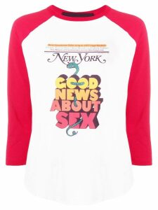 Marc Jacobs The Baseball T-shirt - White