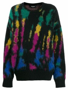 Dsquared2 tie-dye jumper - Black