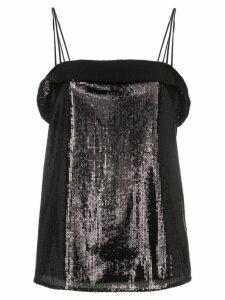 Deitas sequin cami top - Black
